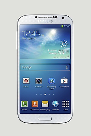 Galaxy S4 White front Alternate