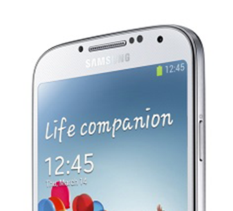 Galaxy S4 FrontPage