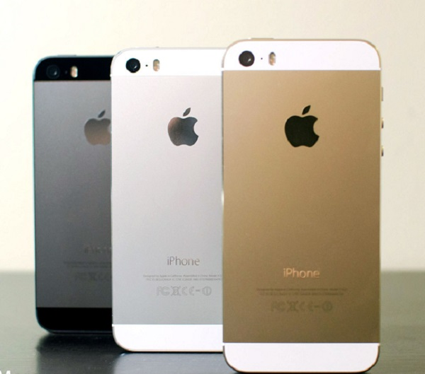 iphone 5s gold silver gray