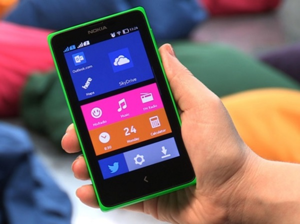 nokia x body green