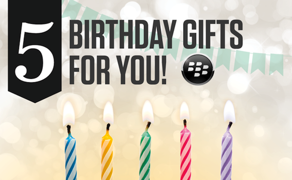 BlackBerry World 5 years