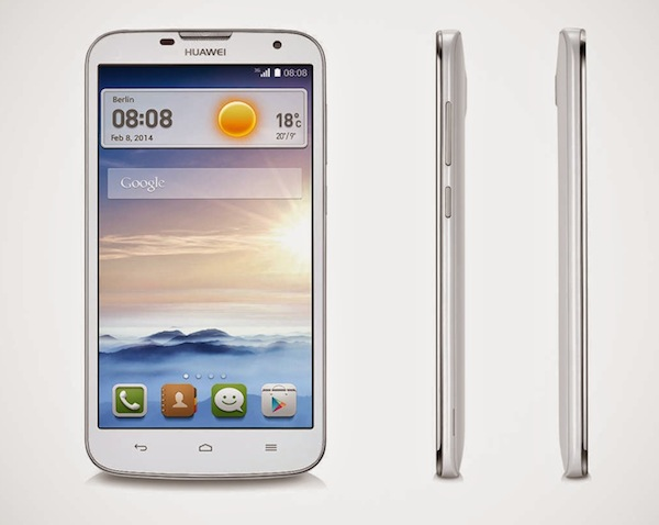 HUA Ascend G730 white front 1