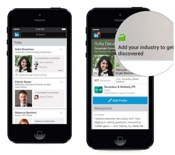 Linkedin-new-profile-iphone