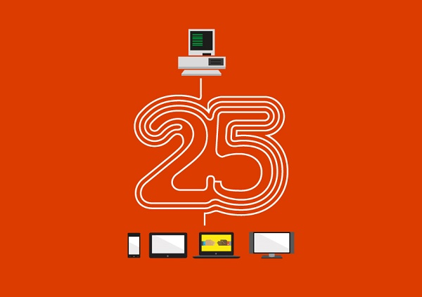 Microsoft Office 25 years