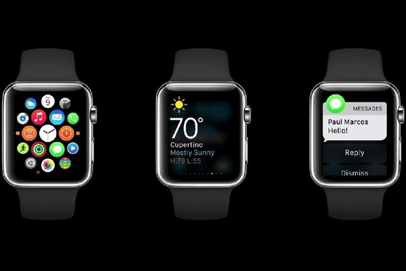El iniciador de aplicaciones de Apple Watch